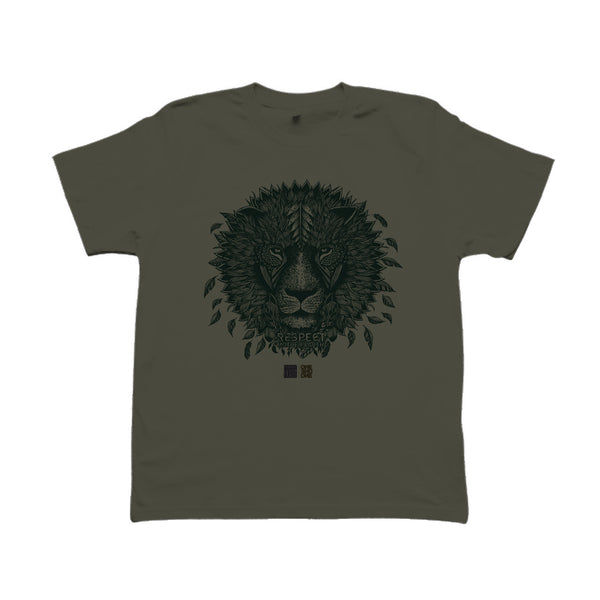 T-shirt LION kaki