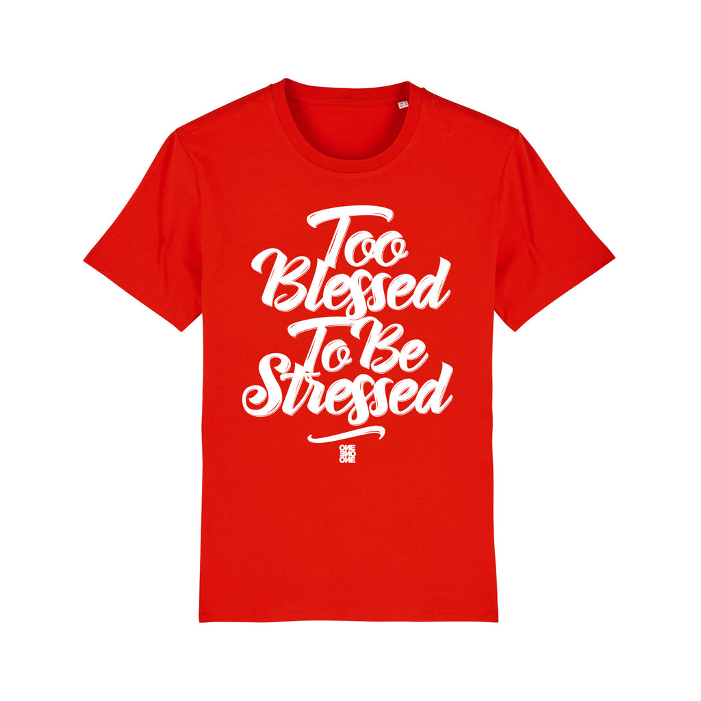ONE ONE ONE - Tshirt Unisexe - Too Blessed - Red
