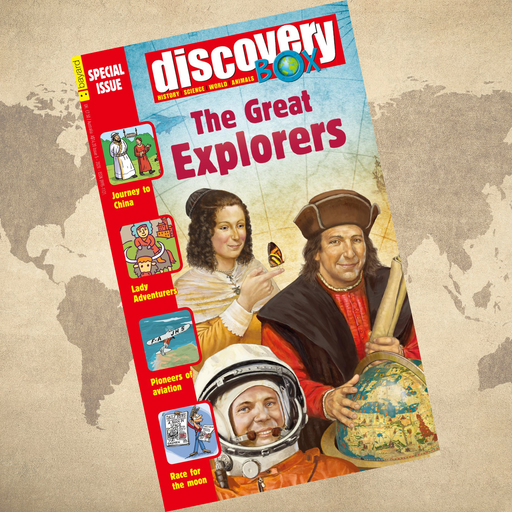 DiscoveryBox Special Edition: The Great Explorers