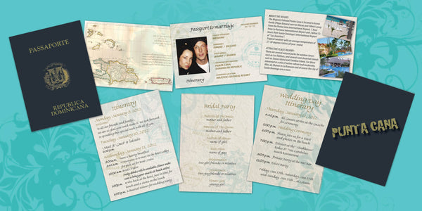 Passport to Paradise Destination Wedding Itinerary | Cabo | Jamaica | Dominican | Mexico - idowithyouweds
