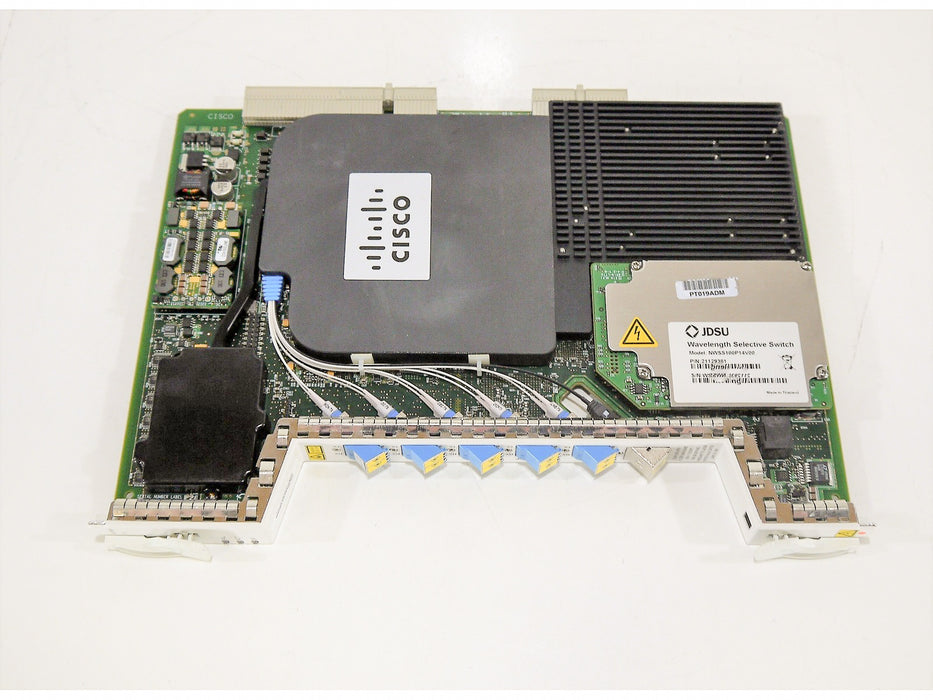 Cisco 15454-40-SMR2-C 40-Channel Single Module ROADM with integrated Optical PRE, Boost Amplifier