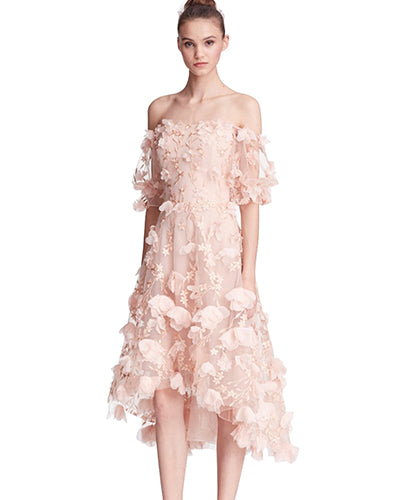 Marchesa Notte Wedding Guest Dress