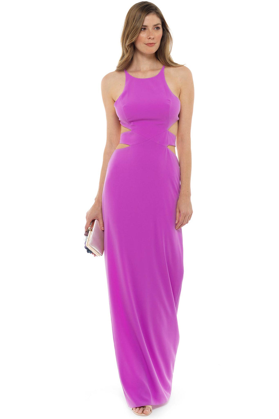 Pink Cut Out Gown