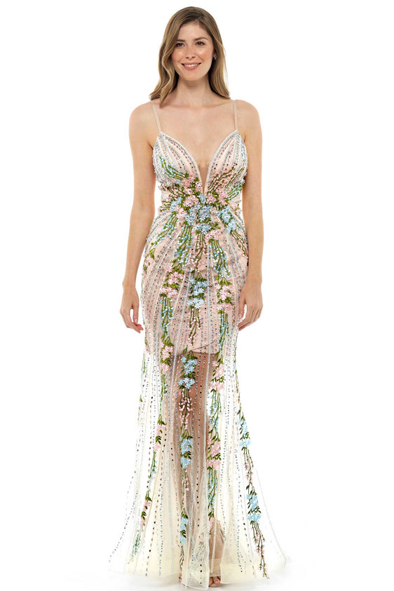 IDA Embellished Gown