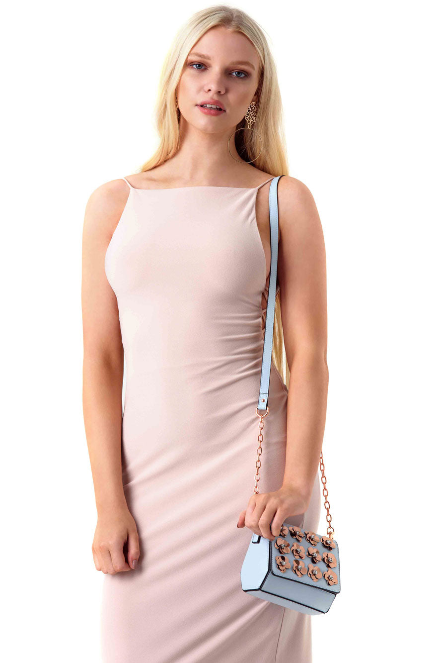 Alice and Olivia Nude Bodycon Kia Dress