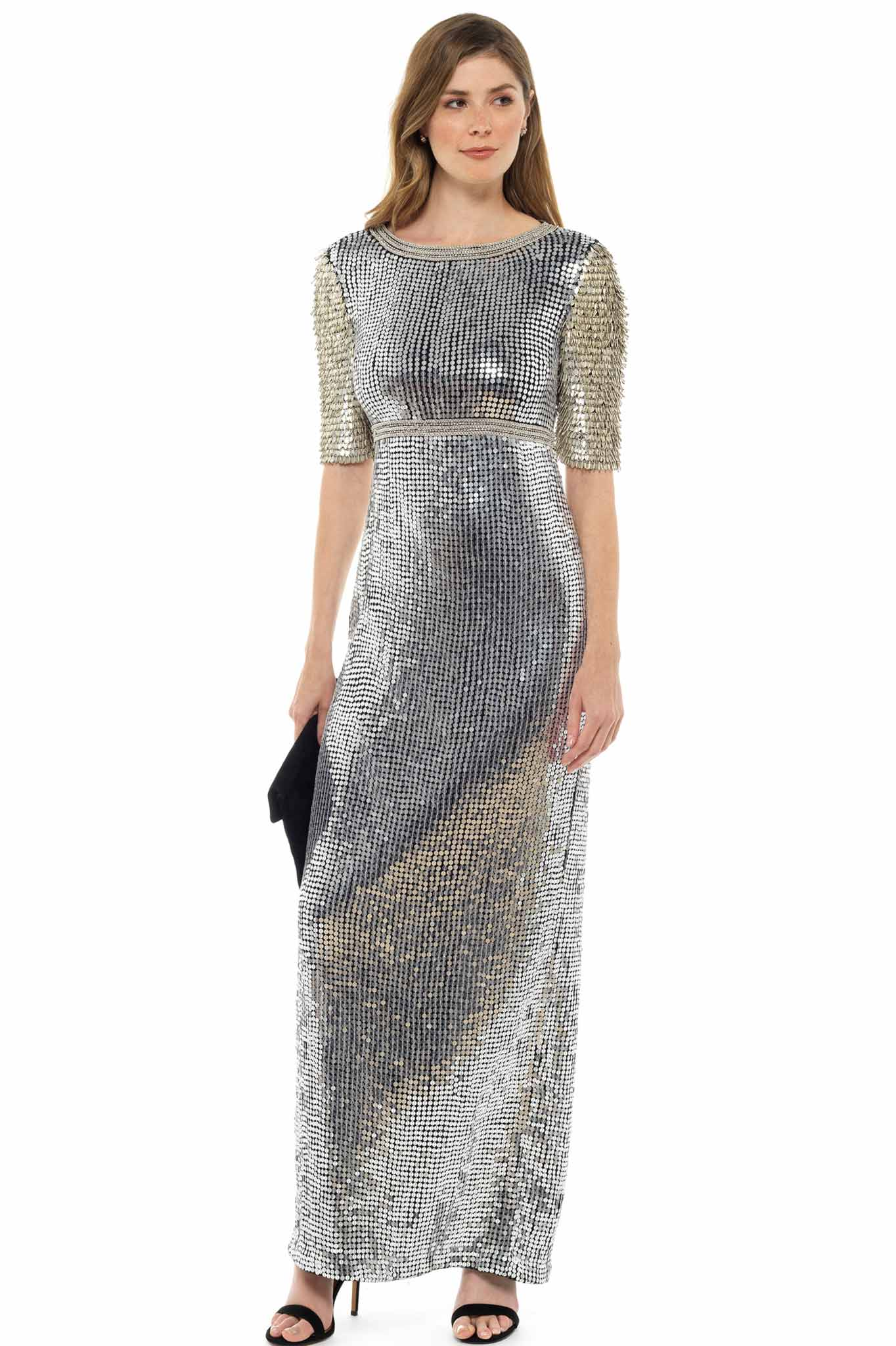 Diane Von Furstenberg Embellished Maxi dress