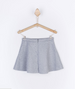Falda Goldy Gris bolsillos niña/ Grey pocket girl's skirt