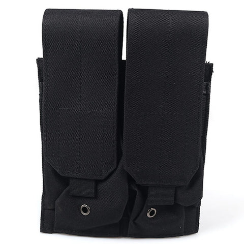 Tactical MOLLE Magazine Pouch Double Pistol Magazine Pouch For M4 M16 5.56 .223