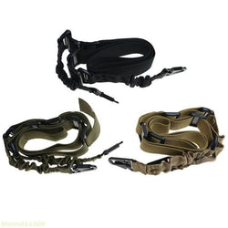 2-Point Nylon Tactical Rifle Pistol Gun Sling CQB Elastic Bungee Snap Hook rifle gun sling