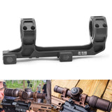 25/30mm Universal Optic Scope Mount with Level Instrument For 20mm Picatinny Rail