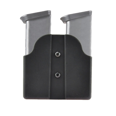 Magazine Belt Holster Holds 2 Double Stack 9mm  .40mm Mags Fit Glock 17 19 22 23 27 31 32 33 34 35 37 38 39 Gen 1 2 3 4 9mm 40 Magazine