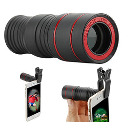 8X High-definition Camera Phone Telescope Monocular Color Version