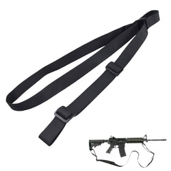 2 Point Rifle Sling Adjustable Gun Sling with FAST-LOOP and 1.25 inch Webbing for Hunting Sports and Outdoors