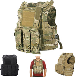 Adjustable Tactical Military Army Paintball Airsoft Combat Assault Vest