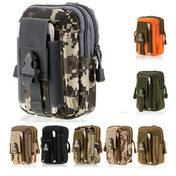 Waterproof Military Belt Waist Bags 1000D Nylon Mobile Phone Wallet Travel Molle Pouch Bolsa