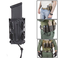 Soft Shell Scorpion Single Universal  Pistol Magazine Pouch Molle & Belt Mag Carrier