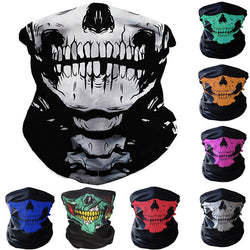Skull Balaclava Hood Full Warm Neck Face Cycling Ski Windproof Protector Mask