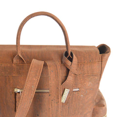 Artelusa brown cork backpack