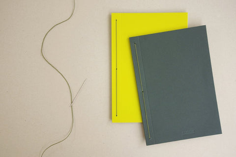 Namban Notebooks in Yellow & Green