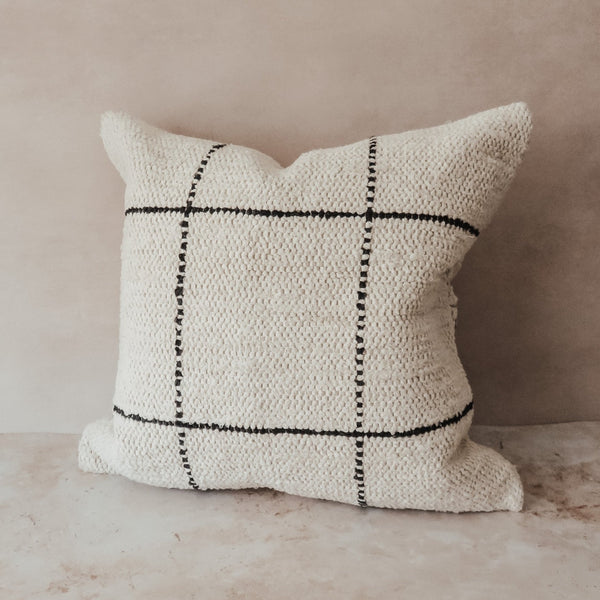 Woven Cushion | Charcoal
