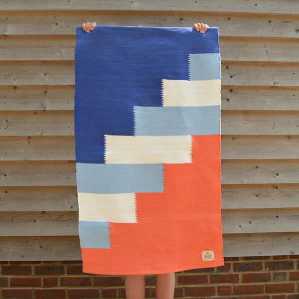 weaving, portuguese rug, natural rug, limited edition, handmade rug, fun rug, designer rug, colourful rug, abstract rug