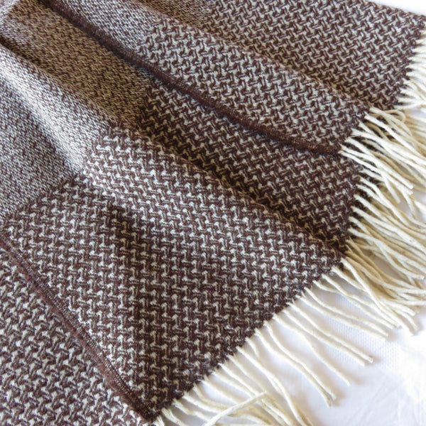 Wool Blanket Chestnut
