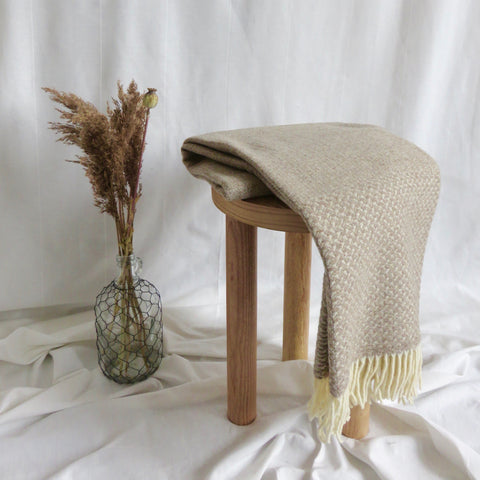Wool Blanket | Natural
