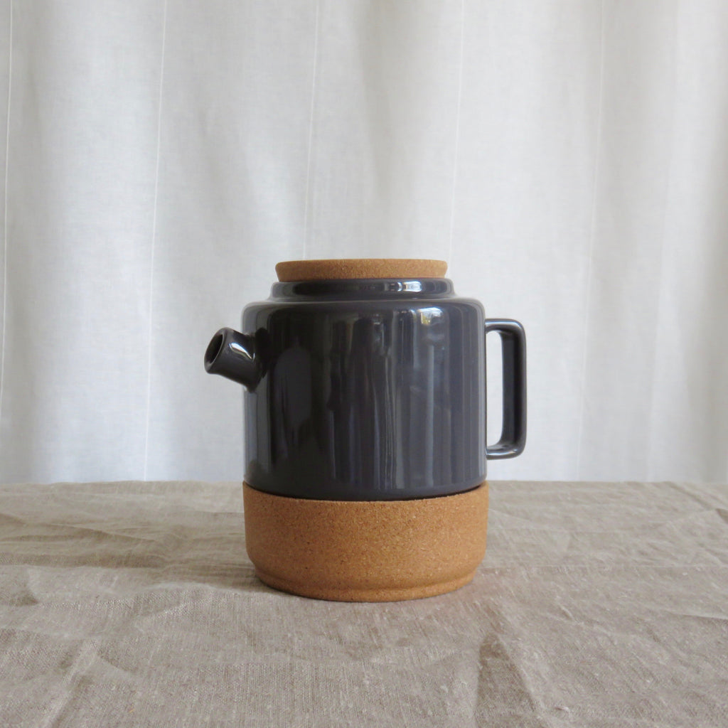 Cork + ceramic teapot