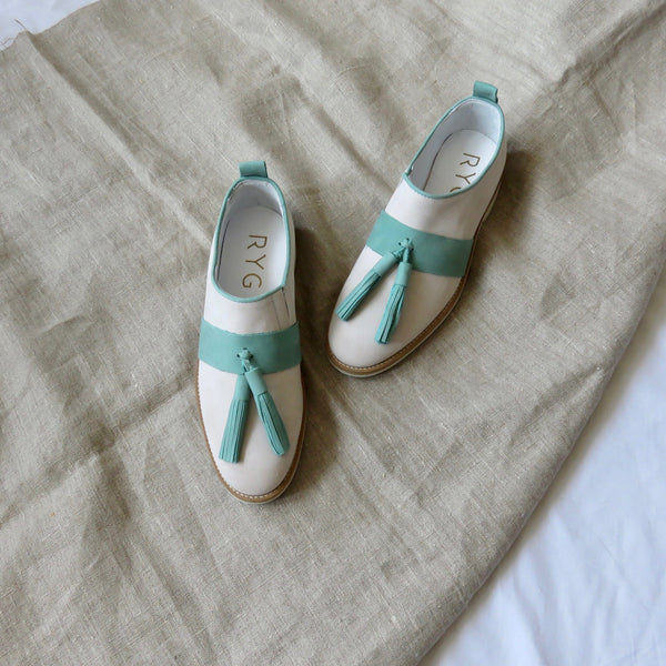 Suede Shoes | Aqua