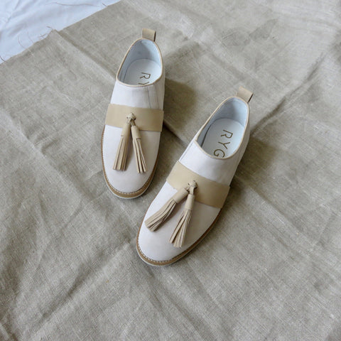 Suede Shoes | Beige
