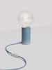 Ioba Handmade Ceramic Table Lamp in Denim