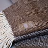 Espino Wool Blanket Brown