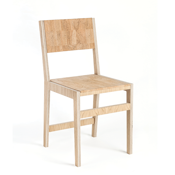 Ludity Cork Chair Plain