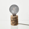 Nove marbled cork stack table lamp