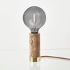 Nove Lighting Marbled Table Lamp