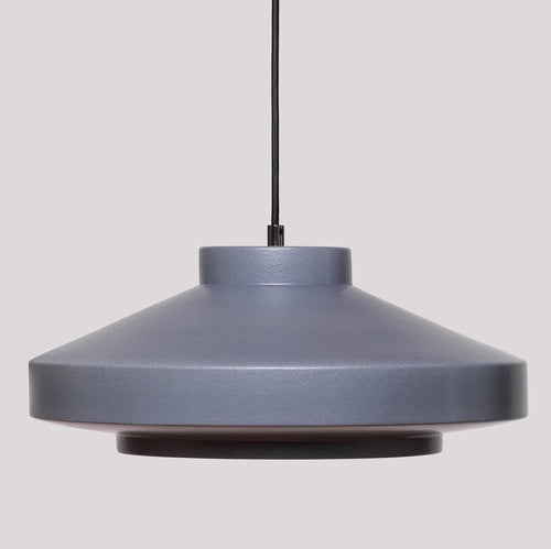 Ruffo Handmade Ceramic Pendant Lamp in Blueberry