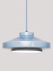 Ruffo Handmade Ceramic Pendant Lamp in Denim
