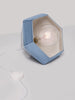 Weba Handmade Ceramic Pendant Lamp in Denim