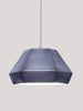 Weba Handmade Ceramic Pendant Lamp in Blueberry