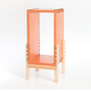Wooden Storage Unit Orange