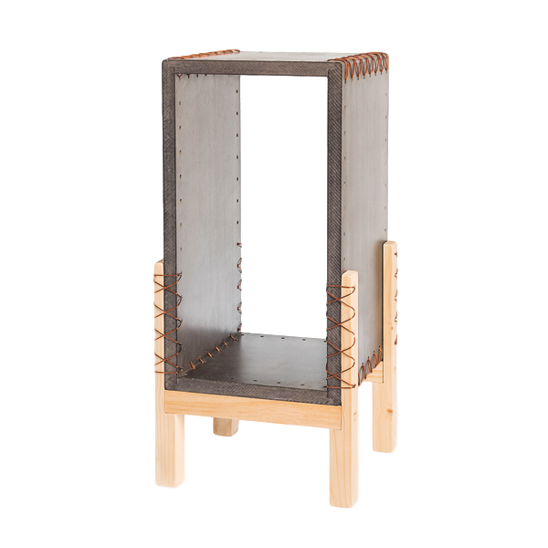 Wooden Side Table | Brown