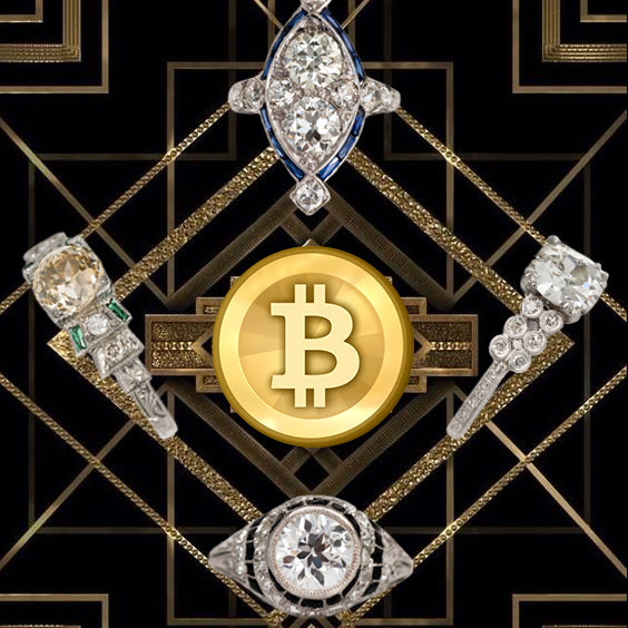 Vintage jewels & cryptocurrency : When two worlds collide.