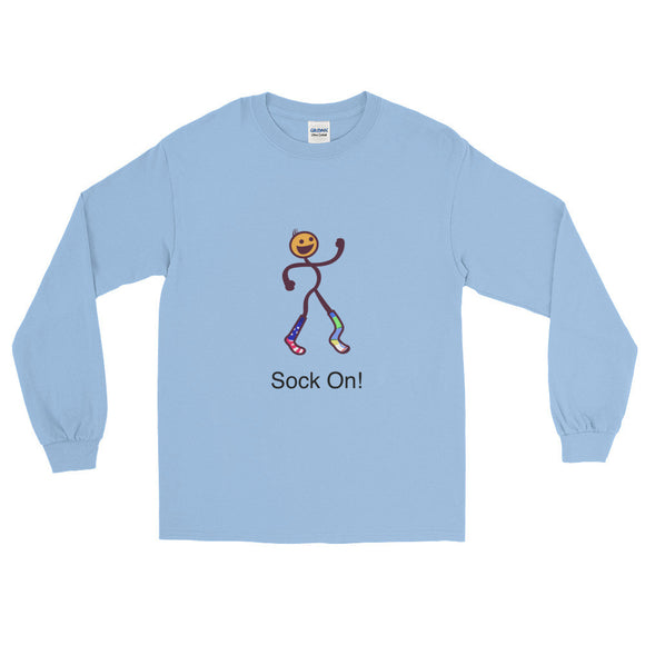 Sock On! Men's Long Sleeve