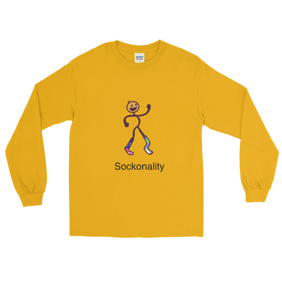 Sockonality Men's Long Sleeve
