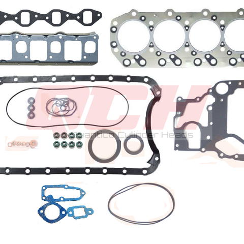 Isuzu 4JG2  3.1  Cylinder Head Gasket Kit Set -& SET HEAD BOLTS - Quantico Cylinder Heads