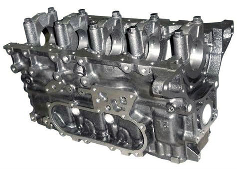 Toyota 2.4 2L-T Engine - Block - Quantico Cylinder Heads