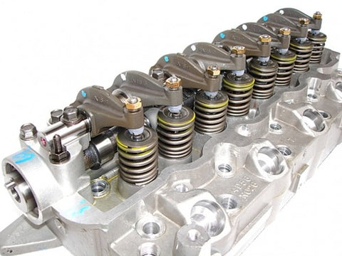 Mitsubishi 4D56 4D56T 2.5 Cylinder head loaded- Pajero Shogun L200 free shipping - Quantico Cylinder Heads