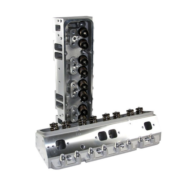 SBC Small Block Chevy Cylinder Heads 196cc Loaded  In - 74cc Ex - 68cc Ch - Pair free shipping paypal only - Quantico Cylinder Heads