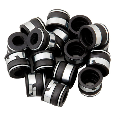 "BBC Big Block Chevy Valve Stem Seals 11/32 Stem .500""Guide Set Of 16 - Quantico Cylinder Heads"