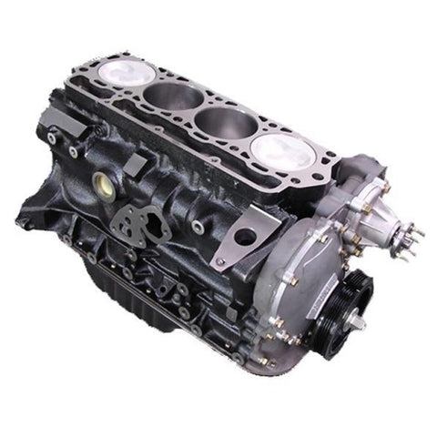 Toyota 4Y 2.2 Engine - Half  short block FREE SHIPPING - Quantico Cylinder Heads